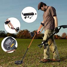 Waterproof Metal Detector W/ Shovel Headphones Coil Shovel Adjustable Automatic