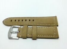 Emporio Armani Brown Leather Wristwatch Strap 24mm