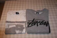Stussy Grey Sweatshirt + T shirt size Small