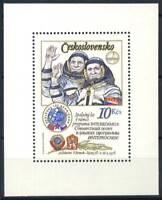 Cecoslovacchia 1979 Mi. Bl. 39 Foglietto 100% **  Cosmonauti