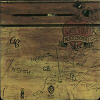 ALICE COOPER School's Out 1980s UK/German issue Vinyl LP EXCELLENT CONDITION