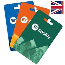 Spotify Premium Gift Card * UK [ SALE *]   12 M0nths   Prepaid