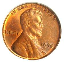 1955 Doubled Die Obverse Lincoln Cent 1C DDO - Certified ANACS UNC Detail (MS)