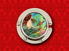 MERMAID PIN UP GIRL SEA FISH LITTLE VINTAGE HANDBAG POCKETBOOK HANGER PURSE HOOK