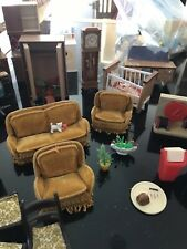 More details for job lot dolls house furniture mixed bag sold as seen