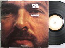 Jazz Lp Paul Horn Inside On Epic