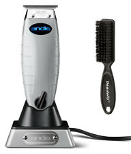 Andis Cordless T-Outliner Li Trimmer #74000 with BeauWis Blade Brush