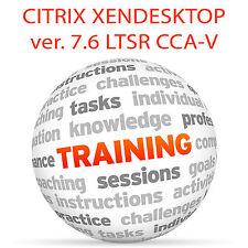 CITRIX XENDESKTOP 7.6 LTSR CCA-V - Video Training Tutorial DVD