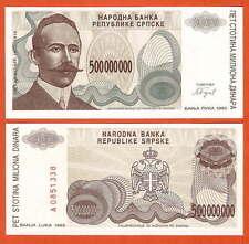 P155  Bosnien  Bosnia Herzegovina  500 Mio Dinara  1993  UNC