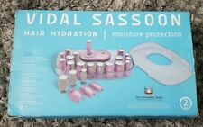 Vidal Sassoon Hair Hydration Moisture Ionic Steam Belly 20 Heated Rollers Set