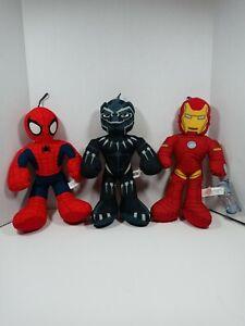 Marvel Plush Lot Of 3
