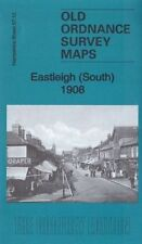 OLD ORDNANCE SURVEY MAP EASTLEIGH SOUTH 1908: HAMPSHIRE SHEET 57.12