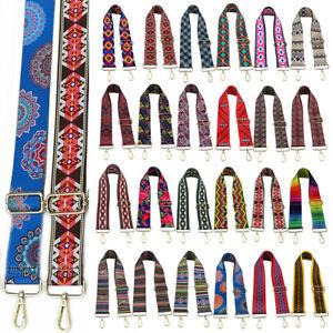 Adjustable Canvas Webbing Shoulder Bag Strap Crossbody Replacement Handbag Belts