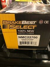 brakebest select OE master cylinder nmc22700 ford fusion 2010 11 12 New Sel Se S