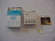 AT&T 4 Number EMERGENCY Automatic DIALER ~NIB~ Elderly ~