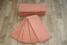 13 Carpet Stair case Treads Peach Stain Free - Carpet Stair Case Pads
