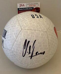 Clint Dempsey Seattle Sounders signed Team USA mini Soccer Ball Proof JSA