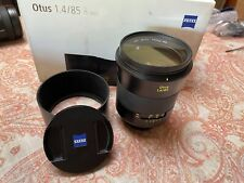 Zeiss Otus 85mm f/1.4 ZE APO Planar for Canon