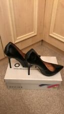 Office Black Patent Size 4 Pointy Shoes