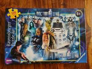 DOCTOR WHO Ravensburger Puzzle - 100 Piece. No 10 637 0 - Complete
