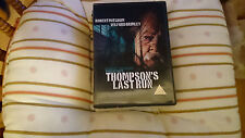 Thompson's Last Run by Robert Mitchum uk dvd