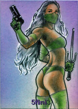 5finity Female Persuasion 5 TFP5 5fini3 Sketch Card by Huy Truong V6