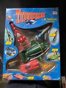Thunderbirds 6 vehicle Super Set