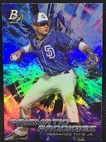 2018 Bowman Platinum Fernando Tatis Jr Prismatic Prodigies #34 Padres