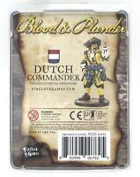 Blood & Plunder FGD0071 Dutch Commander (Captain) Pirate Officer Firelock Games