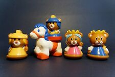 Puericulture - Jouets / Toys - Ours Chevaliers + Roi + Reine + Cheval