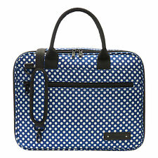 Beaumont Clarinet/Oboe Blue Polka Dot Case Cover - Bb Student Outer Carry Bag