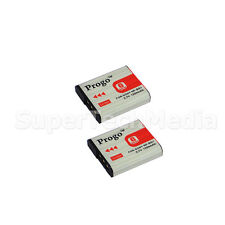 2 Battery for SONY NP-BG1 FG1 G Type Cybershot DSC-H55 H70 H90 HX5v HX7v HX9v