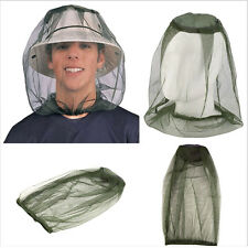 Midge Mosquito Bee Fly Insect Hat Bug Mesh Head Net Face Protector for Fishing