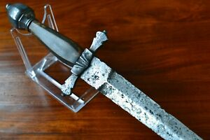16th-17th Century antique dagger, sword, left hand dagger