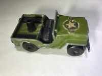 Vintage Matchbox Lesney Superfast 1976 No. 38 Jeep Army Green Made in England