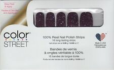 CS Nail Strips Bordeaux Glitz 100% Nail Polish - USA Made!