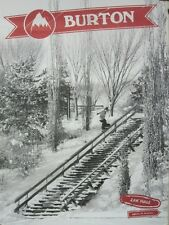 BURTON snowboards 2013 KELLY CLARK/ZAK HALE promo poster NEW & MINT condition
