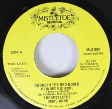 Christmas 45 The Mistletoe Disco Band - Rudolph The Red-Nosed Reindeer / Winter