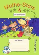 Mathe-Stars - Grundwissen / 4. Schuljahr - Übungsheft von Ursula Kobr, Birgit Kr