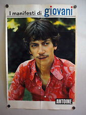 I MANIFESTI DI GIOVANI - Poster Vintage - ANTOINE - 73x50 Cm 3