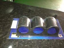 """Triple jauge pod noir (pour 52mm - 2 """"jauges) - NEUF dans paquet"""