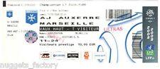 Billet  / Place  OM Olympique de Marseille - AJ Auxerre vs OM  ( 071 )