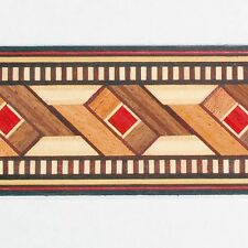 Classically Patterned Buffard Frères Marquetry Banding Strips (Inlay-21a)