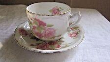 R C Louis XIV Bavaria Small Tea Coffee Demitasse Cup & Saucer X Swords & Crown