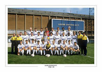 1988 - 1989 LEEDS UNITED OFFICIAL TEAM PHOTO A4 PRINT PHOTO  LEEDS UTD