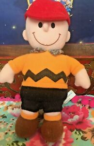 Charlie Brown Soft toy figure - Peanuts Gang