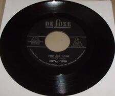 """You Are Gone by Royal Flush (Vinyl 7"""") NM"""