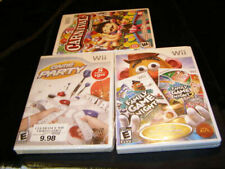 Nintendo Wii Game Party Family Game Night/ Game Night 2 Carnival Games