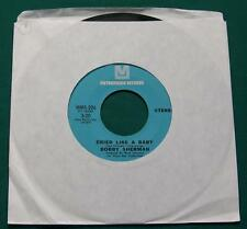BOBBY SHERMAN - Cried Like a Baby / Is Anybody There (45 RPM Single) VG+