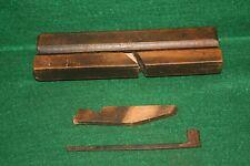 Antique 19th Century European Carpenters Woodworking Moulding Plane Inv#JB78